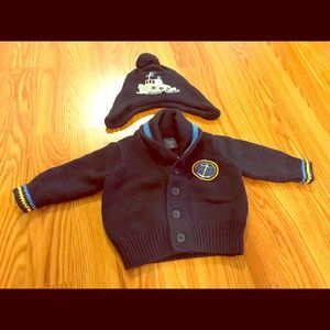 BabyGap Sweater and Hat